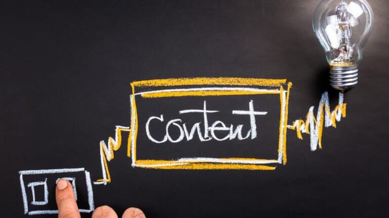 A diferença entre o conteúdo interno do blog e o conteúdo externo